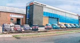 Mini Spares Head Office Potters Bar
