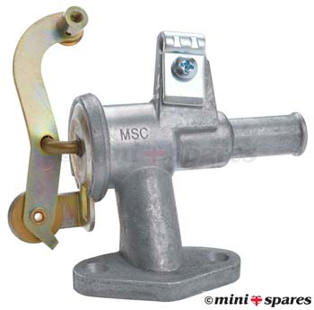 ADU9102MS  Mini heater valve genuine minispares original shape