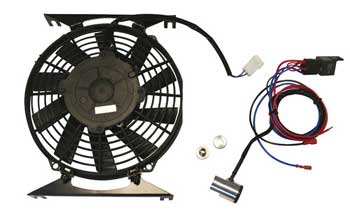 A Full Electric Fan Kit Mini Spares Helped To Design With Precision Made Brackets Mount Directly The Radiator Air In