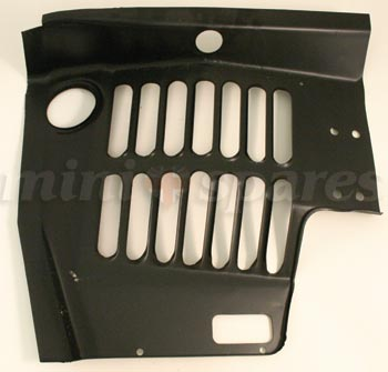 Czh3063 Mini Inner Wing Lh Front 20 Deep For Clubman