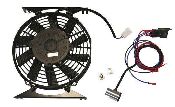 Mini Electric Fans : C ara mini radiator electric fan kit tailor made