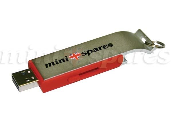 usb001 mini minispares 8gb usb flash drive bottle opener red. Black Bedroom Furniture Sets. Home Design Ideas