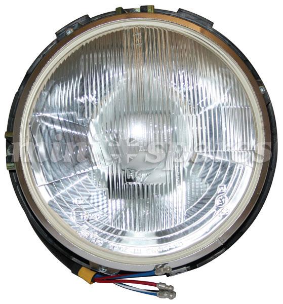 XBC10197 - Mini headlamp assembly complete quadoptic r/h/d