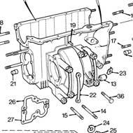 Bhm5093 Mini Gearbox Transmission Case Latest Type Rod Change