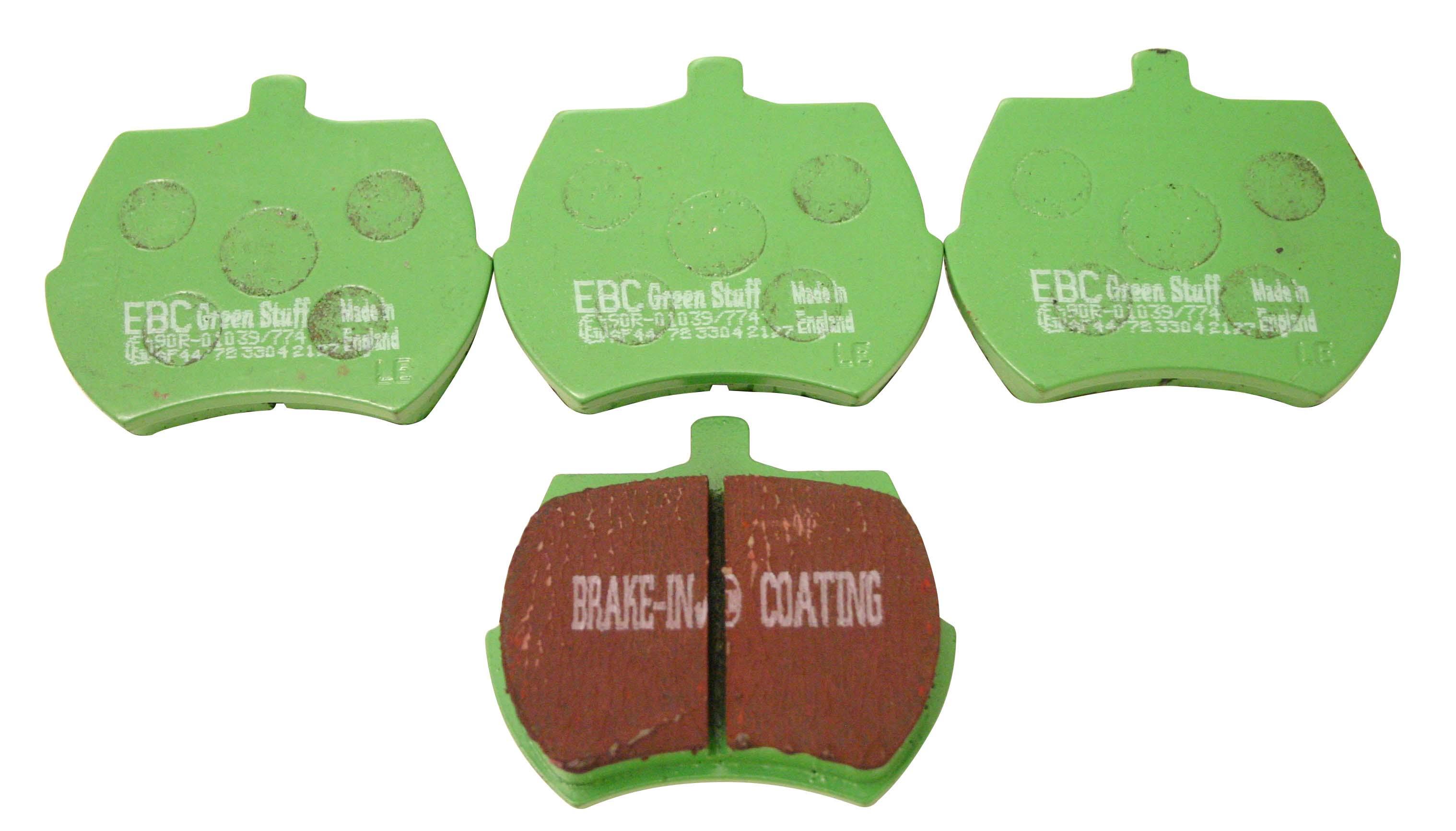 C Aht16blue Mini Ebc Blue Stuff Brake Pads For 84 Discs