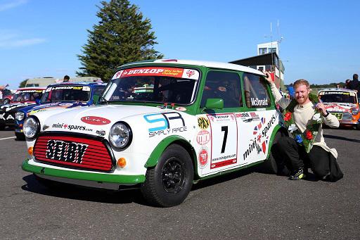 Snetterton maiden victory Mini Spares