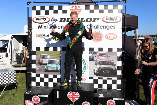 Snetterton podium 2016 Mini Spares