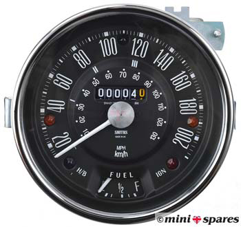 Mini Spares Article - Electronic Speedo and Sensors
