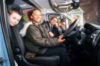 Minibuses for charity
