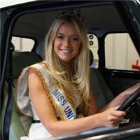 Miss UK Draw the Winning Raffle Ticket