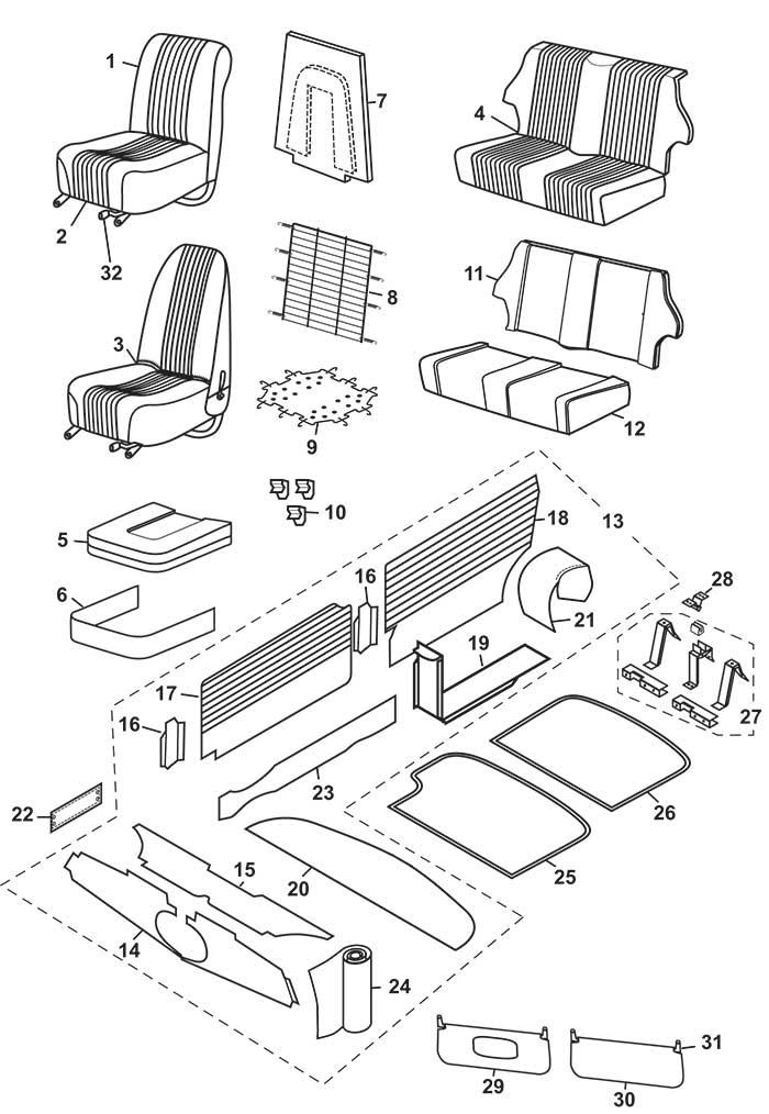 Mini Cooper Interior Parts Diagram Www
