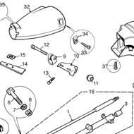 Classic Mini Lower Steering Column Bush